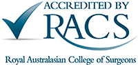 Accredited by RACS.